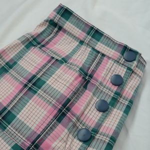 Plaid Pinup Shorts